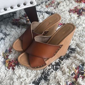 Sexy Brown Wedges